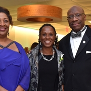 Edna Ruth Vincent '89, Dean Camille Nelson, and Judge Gerald Bruce Lee '76.
