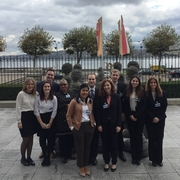 UN CAT Project students in Geneva
