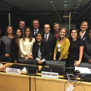 UN CAT Project students at United Nations Committee against Torture 59th Session