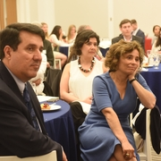 Public Interest Committee member Professor Diego Rodriguez-Pinzon and Professor Claudia Martin