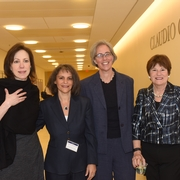 Prof. Diane Orentlicher, WCRO Director Susana SaCouto, Director of ABA Rule of Law Initiative Elizabeth Andersen, Judge Margaret McKeown